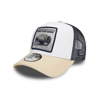 NEW ERA NY STATE BISON 940 11973036<br>Blanc