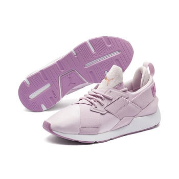 PUMA MUSE SATIN 2 WNS<br>Rose