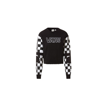 VANS TEXTILE BMX CREW FLEECE<br>Multicolore
