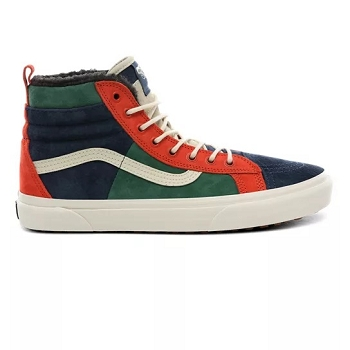 CL GRAPHIC CAP FOOD ED1270 UA SK8HI 46 MTE DX MTE FAIRWAYGIBRALTARSEA:Cuir / Textile/Multicolore