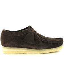 CLARKS ORIGINALS WALLABEE<br>Marron