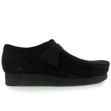 CLARKS ORIGINALS WALLABEE<br>Noir