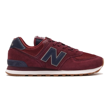 NEW BALANCE ML574<br>Bordeaux