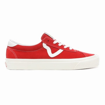 AUTHENTIC SF PILGRIM VNOA3MU6WOO1 UA STYLE  73 DX:Cuir/Rouge