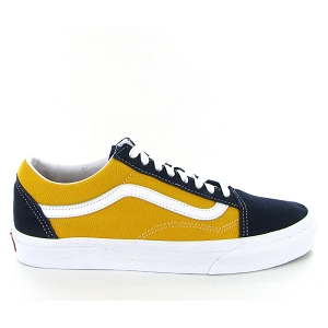 OLD SKOOL CLASSIC SPORT VN0A3WKT4PL1:Cuir / Textile/Jaune