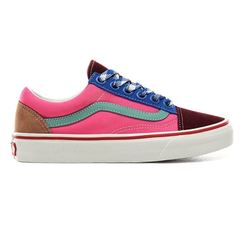 VANS UA OLD SKOOL FRAYED LACES <br> Multicolore