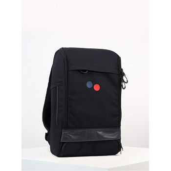 PINQPONQ CUBIK MEDIUM BACKPACK LICORICE BLACK<br>Noir