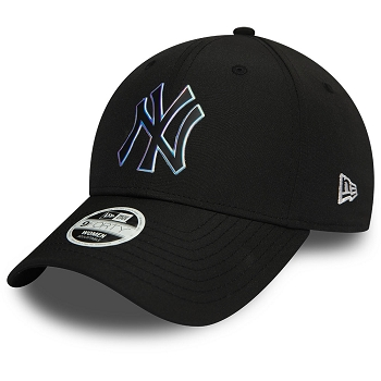 NEW ERA WMNS MLB NYLON 9FORTY NEYYAN BLK 12134627<br>Noir