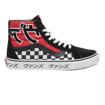 VANS SK8 HI REISSUE JAPANESE TYPE RACING RE VN0A2XSBSJY1 <br> Noir