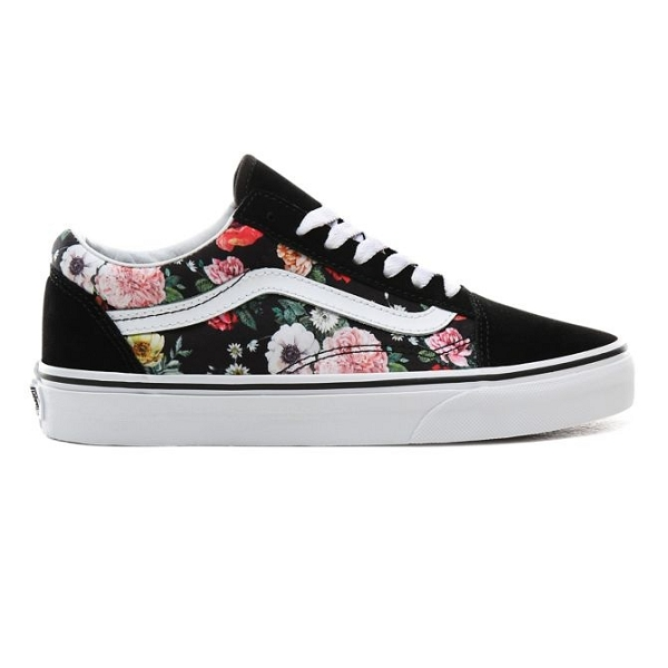 vans fleurs