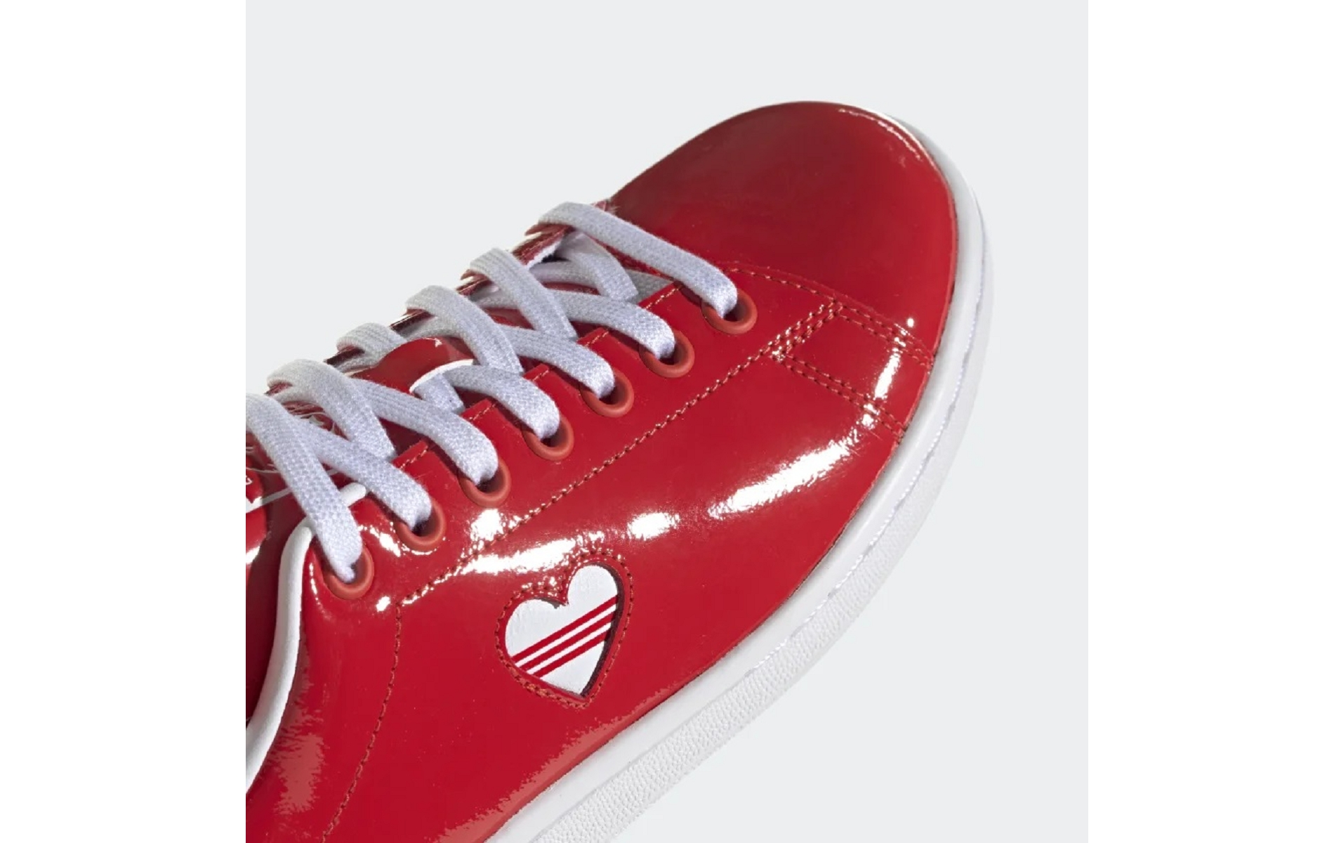 adidas stan smith rouge vernis