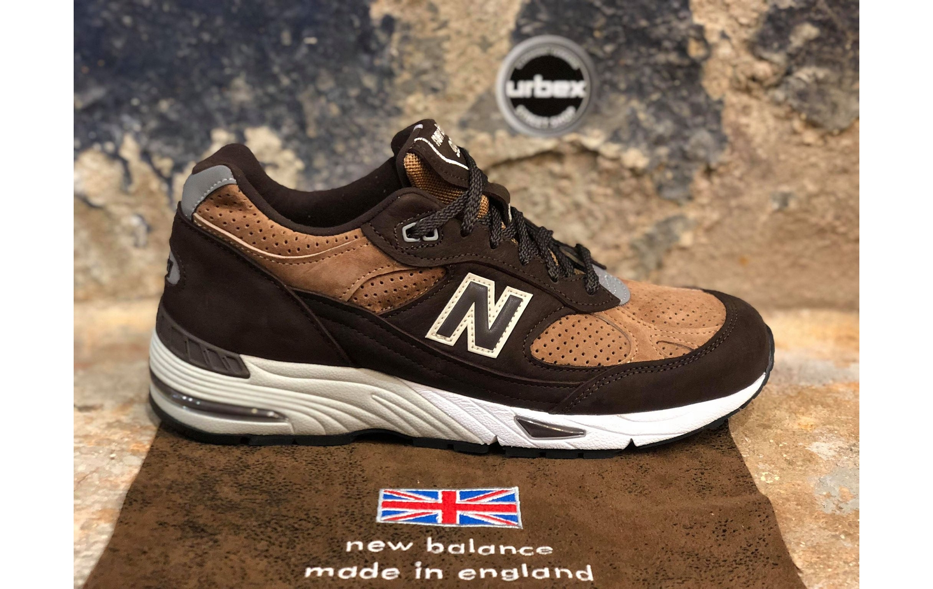 New balance uk usa sneakers m991 dbt marronD026301 1 ... 28eba1ade378