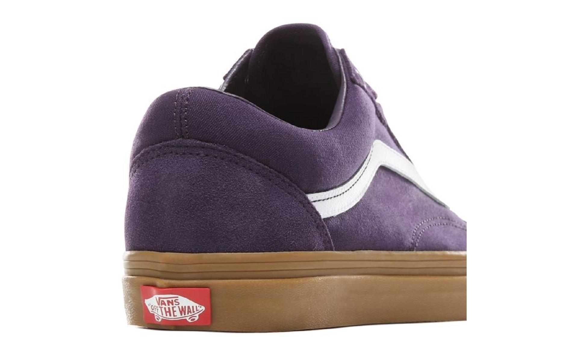 vans violette femme